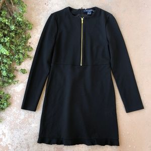 French Connection Ponte Jersey Long Sleeve Dress